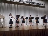 吹奏楽部の演奏
