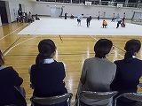 新体操部の見学
