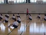 体育館での授業