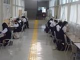 渡り廊下の学習も復活