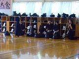 剣道部の練習開始