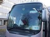 乗車のバス