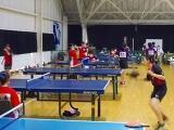 卓球部の合同練習(所沢西)