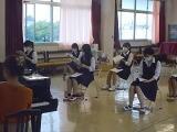 距離をおいた音楽の授業