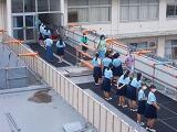 活気づく校舎